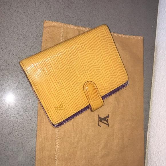 Louis Vuitton Handbags - Authentic louis vuitton epi wallet agenda passport